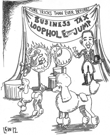 SOTU 2012:The Business Tax Loophole Jump